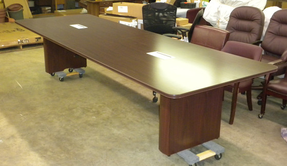 HON Office Furniture Useds And New Design Layouts ADVANCED OFFICE - Hon racetrack conference table